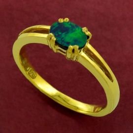 Ladies ring - Opal