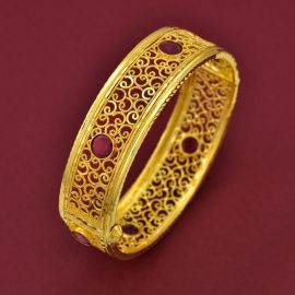 BROAD BANGLE - STONE