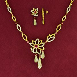 NECKLACE SET - RUBY
