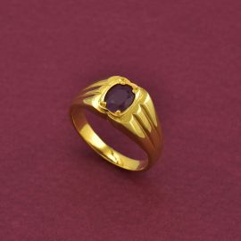 Gents Ring - Ruby